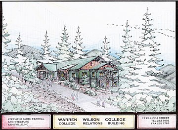 Orr Cottage (College Relations) at Warren Wilson College